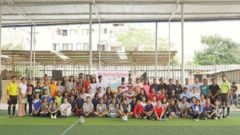 Shristi Volunteers for Charity Girls Athletic Tournament