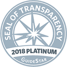 HCC Guide Star 2018 Platinum Seal of Transparency